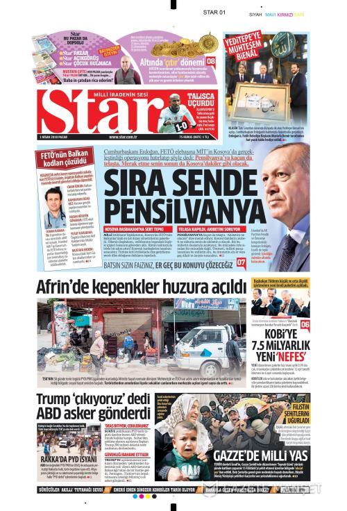 STAR - 01 Nisan 2018