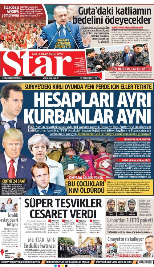 STAR - 11 Nisan 2018