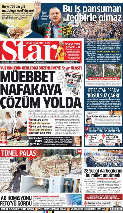 STAR - 16 Nisan 2018