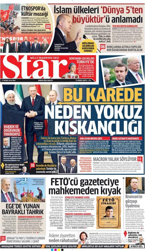 STAR - 17 Nisan 2018