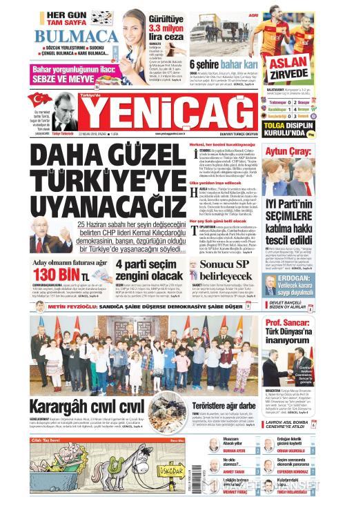 Türkiye'de Yeni Çağ - 22 Nisan 2018