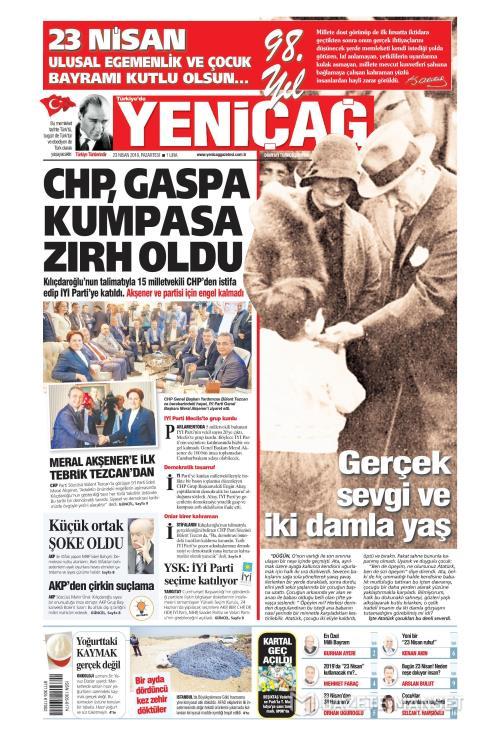 Türkiye'de Yeni Çağ - 23 Nisan 2018