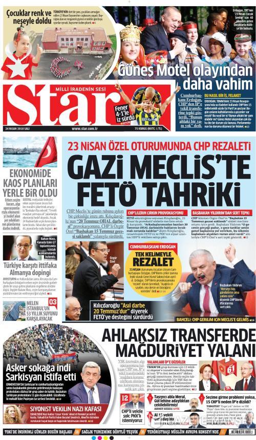 STAR - 24 Nisan 2018