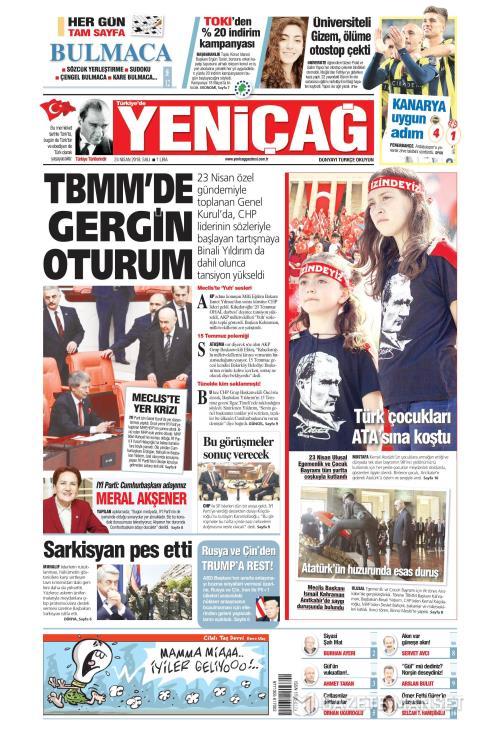 Türkiye'de Yeni Çağ - 24 Nisan 2018