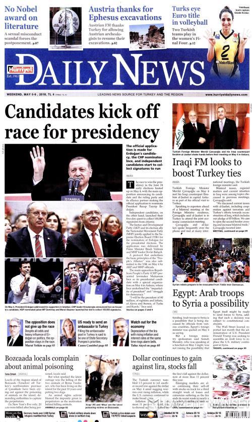 HÜRRİYET DAİLY NEWS - 05 Mayıs 2018