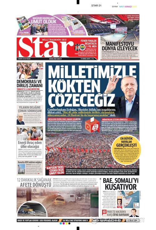 STAR - 06 Mayıs 2018
