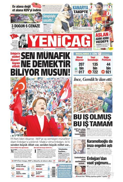 Türkiye'de Yeni Çağ - 07 Mayıs 2018