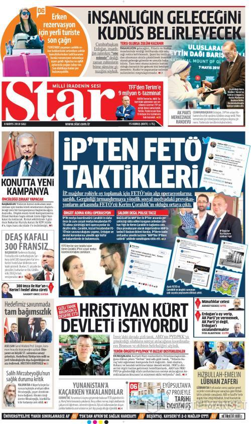 STAR - 08 Mayıs 2018