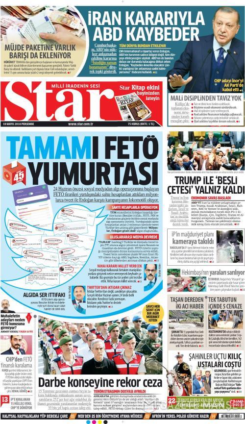 STAR - 10 Mayıs 2018
