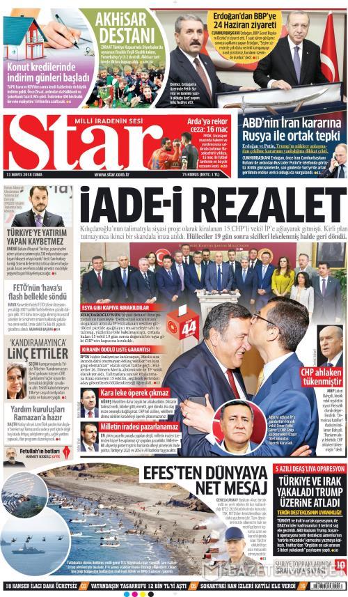 STAR - 11 Mayıs 2018