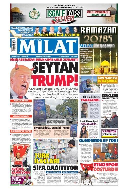MİLAT - 14 Mayıs 2018
