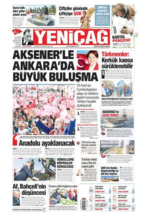 Türkiye'de Yeni Çağ - 14 Mayıs 2018