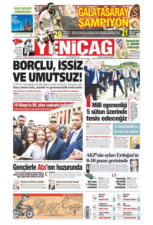 Türkiye'de Yeni Çağ - 20 Mayıs 2018