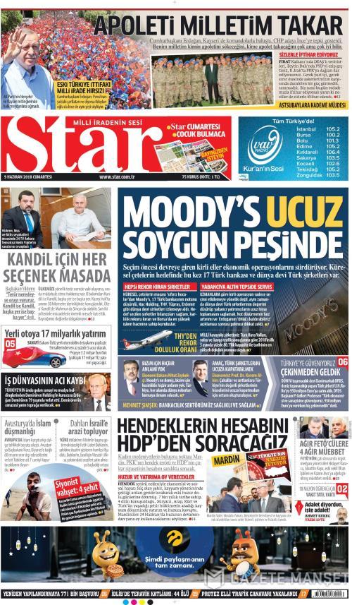 STAR - 09 Haziran 2018