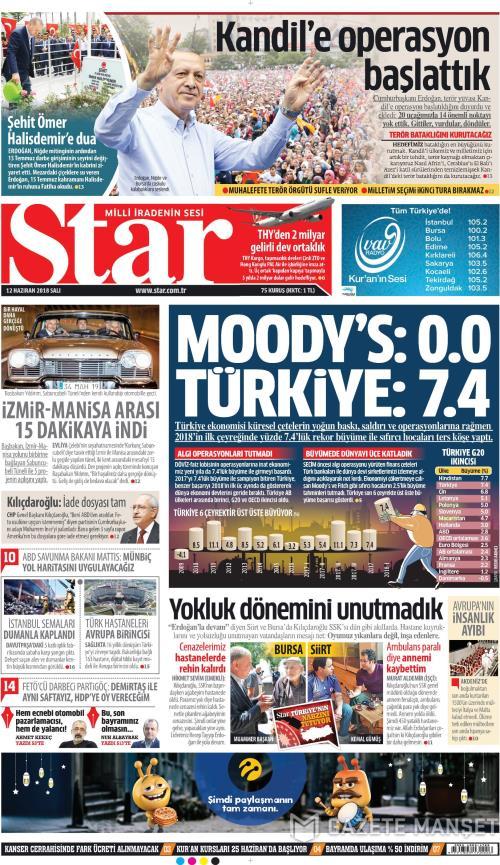 STAR - 12 Haziran 2018