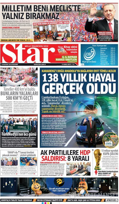 STAR - 14 Haziran 2018