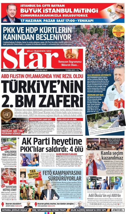 STAR - 15 Haziran 2018