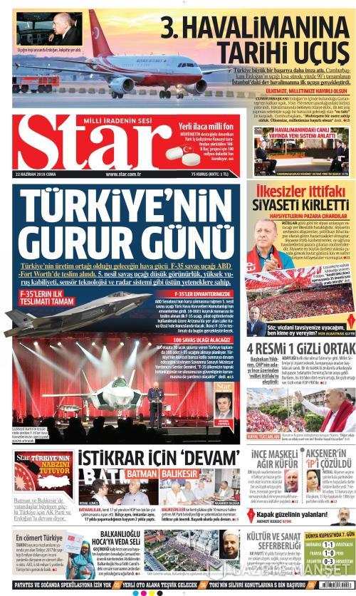 STAR - 22 Haziran 2018