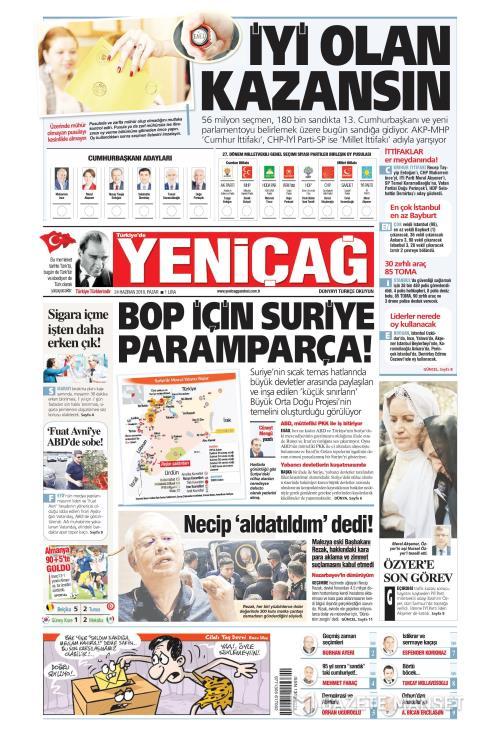 Türkiye'de Yeni Çağ - 24 Haziran 2018