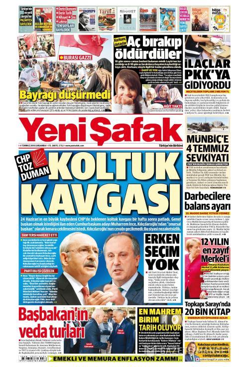 YENİ ŞAFAK - 04 Temmuz 2018