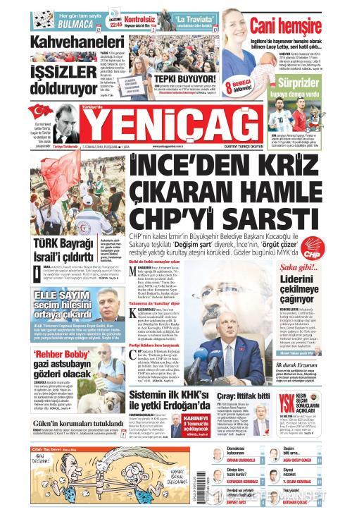 Türkiye'de Yeni Çağ - 05 Temmuz 2018