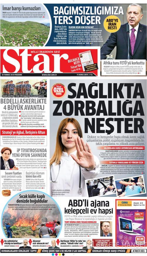 STAR - 26 Temmuz 2018