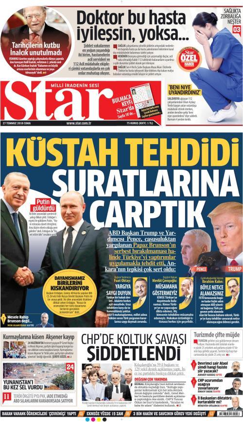 STAR - 27 Temmuz 2018