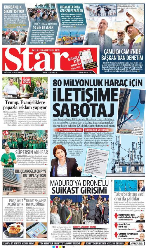 STAR - 06 Ağustos 2018