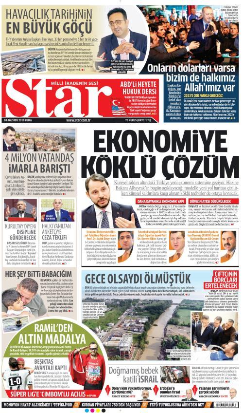 STAR - 10 Ağustos 2018