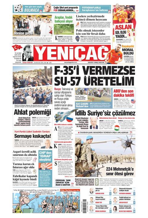 Türkiye'de Yeni Çağ - 28 Ağustos 2018
