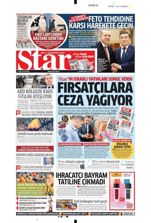 STAR - 02 Eylül 2018
