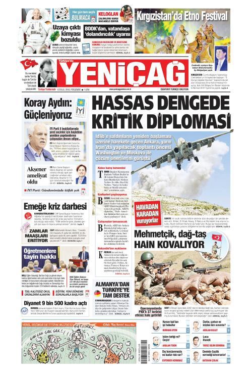 Türkiye'de Yeni Çağ - 06 Eylül 2018