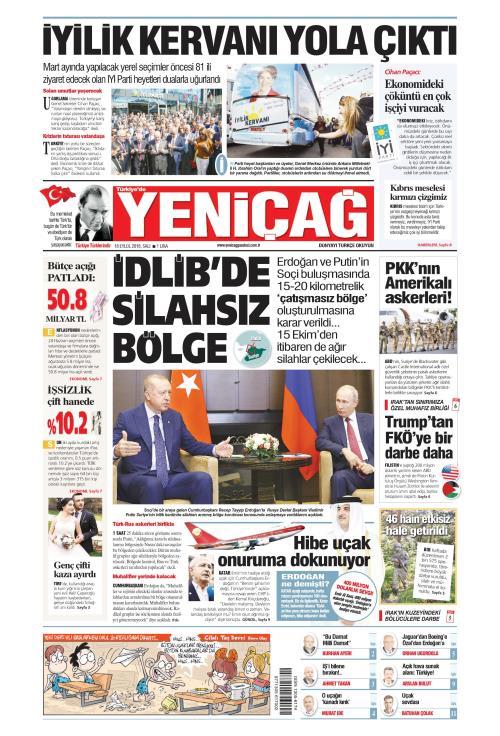 Türkiye'de Yeni Çağ - 18 Eylül 2018
