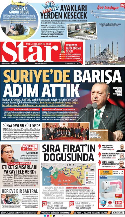 STAR - 20 Eylül 2018