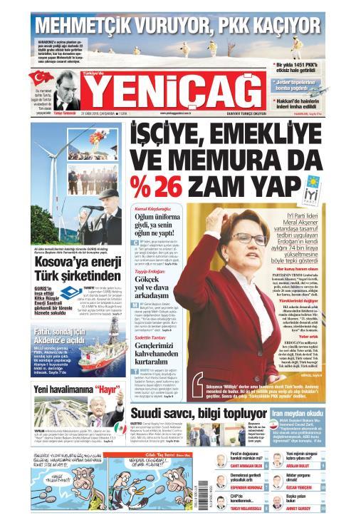 Türkiye'de Yeni Çağ - 31 Ekim 2018