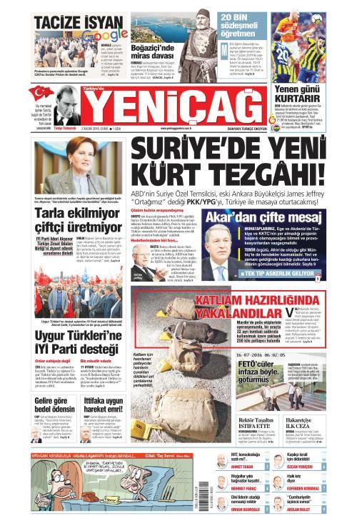 Türkiye'de Yeni Çağ - 02 Kasım 2018