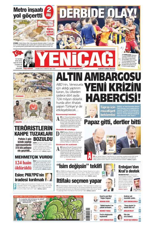 Türkiye'de Yeni Çağ - 03 Kasım 2018