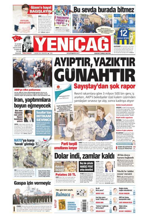 Türkiye'de Yeni Çağ - 05 Kasım 2018
