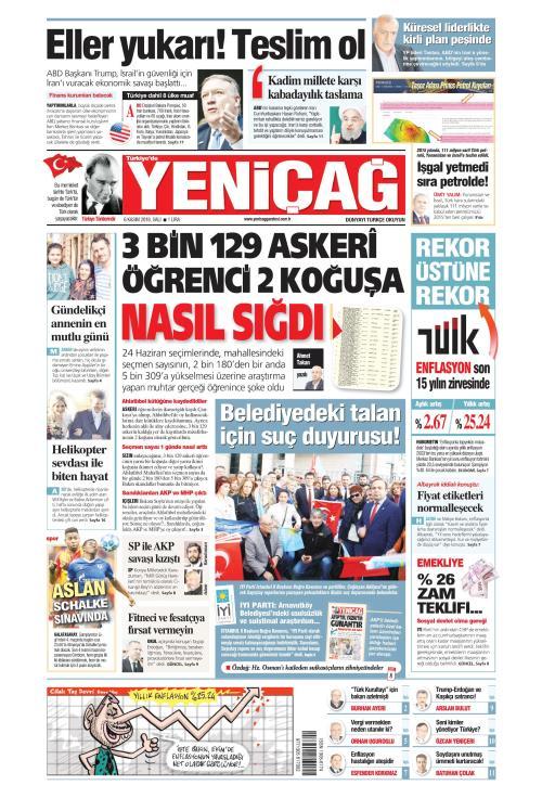 Türkiye'de Yeni Çağ - 06 Kasım 2018
