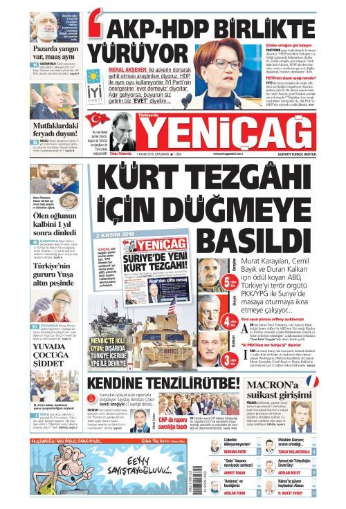 Türkiye'de Yeni Çağ - 07 Kasım 2018