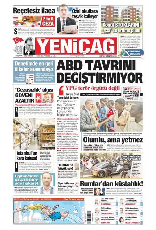 Türkiye'de Yeni Çağ - 08 Kasım 2018