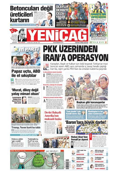 Türkiye'de Yeni Çağ - 09 Kasım 2018