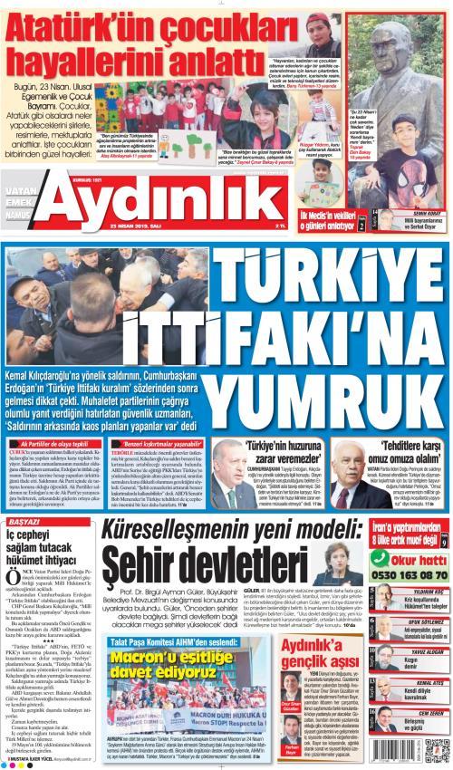 AYDINLIK - 23 Nisan 2019