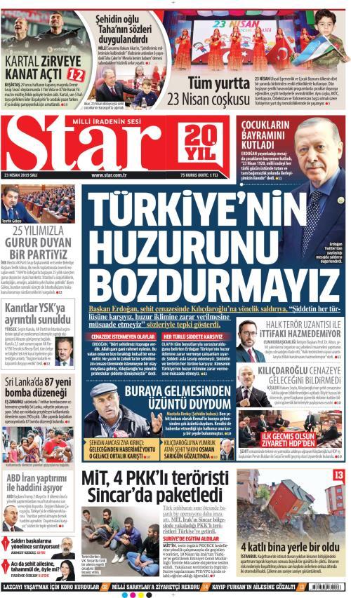 STAR - 23 Nisan 2019