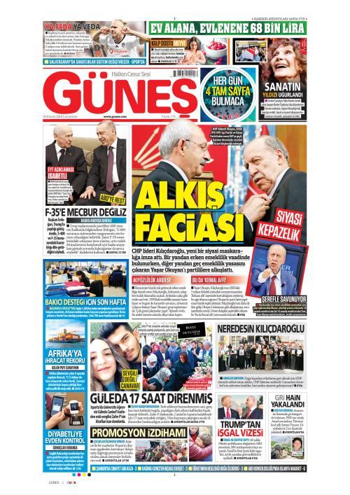 GÜNEŞ - 20 Kasım 2019