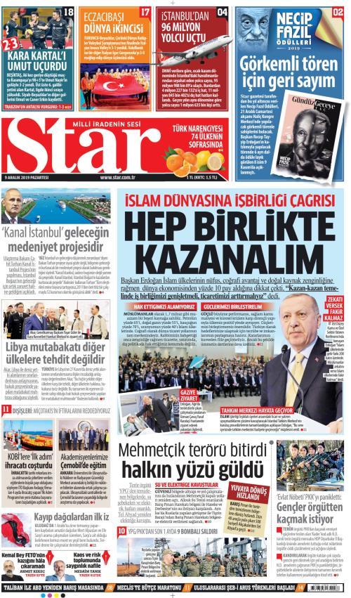 STAR - 09 Aralık 2019