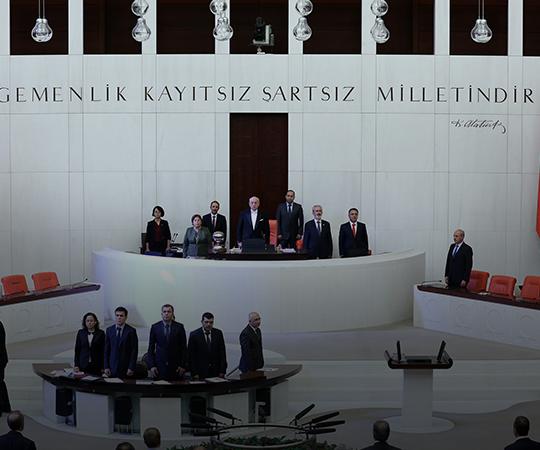 6.16 Meclis olağanüstü gündemle toplandı