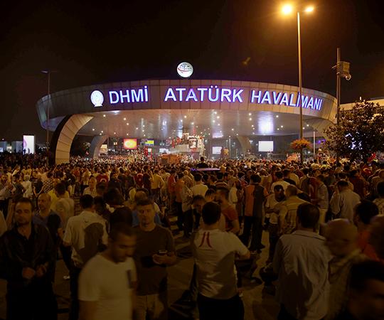 5.4 İstanbul'a gelen Erdoğan, Stratfor'un hedefinde