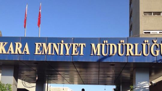 Ankara Emniyet Müdürlüğü bombalandı