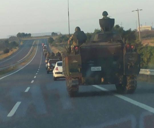 5- Бронетанковое подкрепление в Стамбул